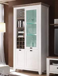 Wohnzimmer Vitrine Weiß : vitrine 120x210x45 cm akazie wei glasschrank hochschrank wohnzimmer barnelund ebay ~ Markanthonyermac.com Haus und Dekorationen
