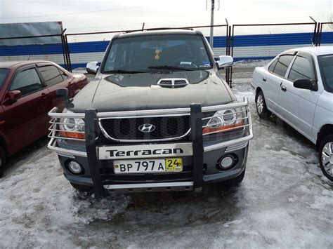 2002 Hyundai Terracan Pictures Information And Specs