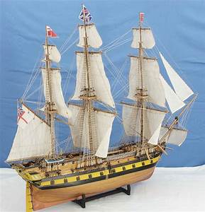 Ship model frigate HMS SERAPIS