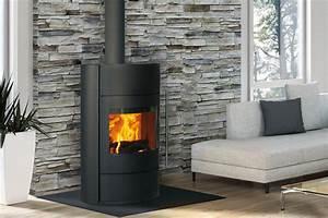 Poele A Bois Moderne : poele a bois fonte flamme moderne ou rustique ~ Dailycaller-alerts.com Idées de Décoration
