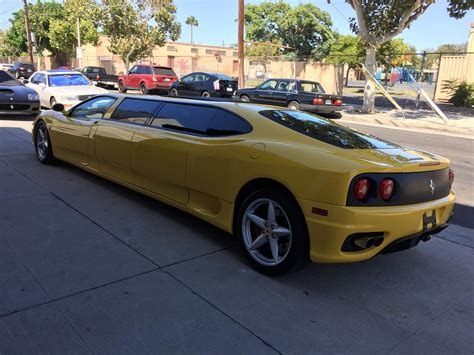 Ferrari limousine review | car review. This Ferrari limo that was outside my house today : mildlyinteresting