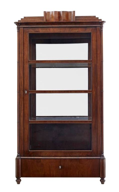 kitchen glazed cabinets 19th century mahogany display cabinet for at 1772