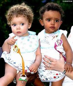 Another Pale Blue Dot: Twins from different races...