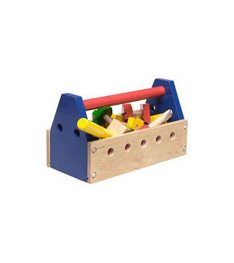 doug wooden take along 24 tool kit
