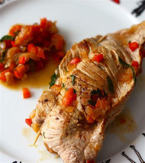 cuisiner paupiette paupiettes de veaux aux poivrons blogs de cuisine