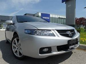 Used 2004 Acura Tsx 6 Speed Manual Low Km