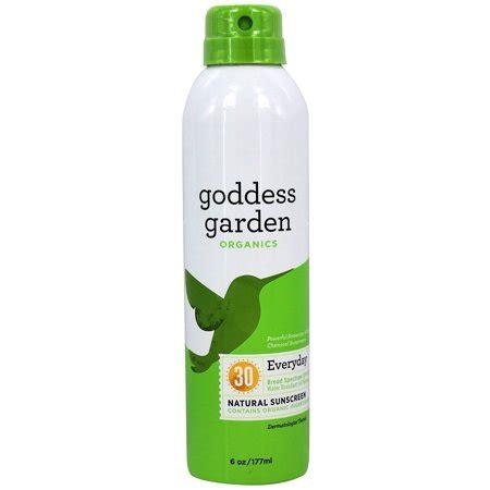 goddess garden sunscreen goddess garden organic sunscreen spf