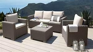 Lounge Set Garten : gadget des tages 4 teiliges garten lounge set in rattan optik ~ Yasmunasinghe.com Haus und Dekorationen