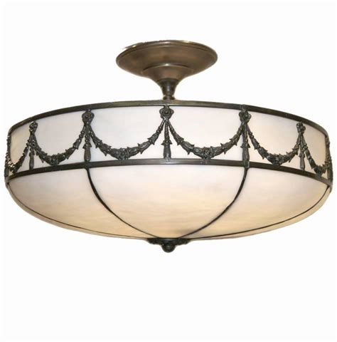 leaded glass light fixture for sale at 1stdibs