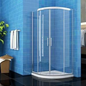 Runddusche 90x90 Schiebetür : runddusche duschkabine farbe schiebet r dusche echtglas viertelkreis 80x80 90x90 ebay ~ Orissabook.com Haus und Dekorationen