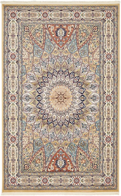Country Medallion Style Rug Traditional Floral Carpets