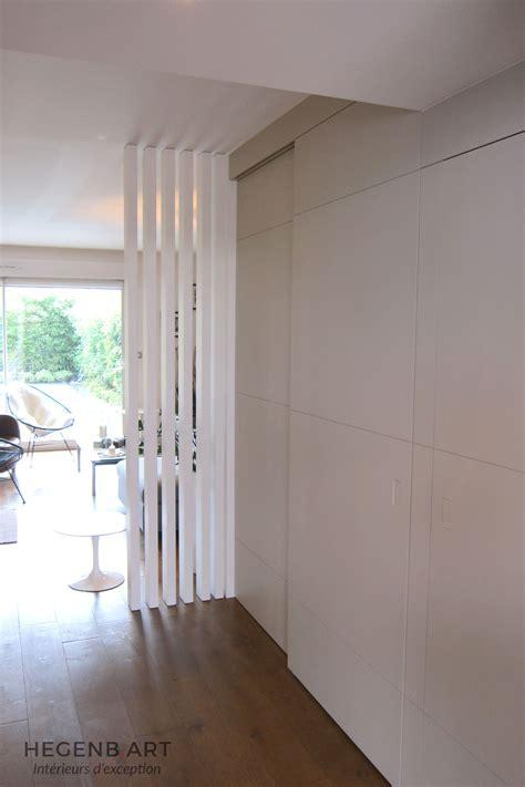 paravent cuisine salon moderne bois