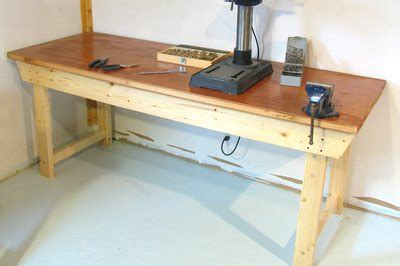 wood simple workbench plans blueprints  diy