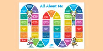 all about me board all about me board activity