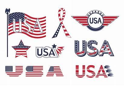 Usa Flag Vector Psd Elements Photoshop Vecteezy