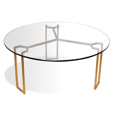 round gold coffee table triad modern geometric gold leaf round coffee table