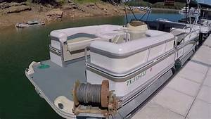 2000 Fisher Freedom 240dlx Pontoon Boat With 90hp 4
