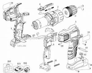 Black And Decker Ldx220sbfc Parts List And Diagram