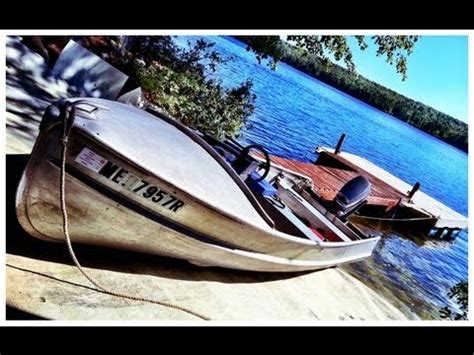 Aluminum Boats Poland by Testing Out The Alumacraft Model K On Range Pond In