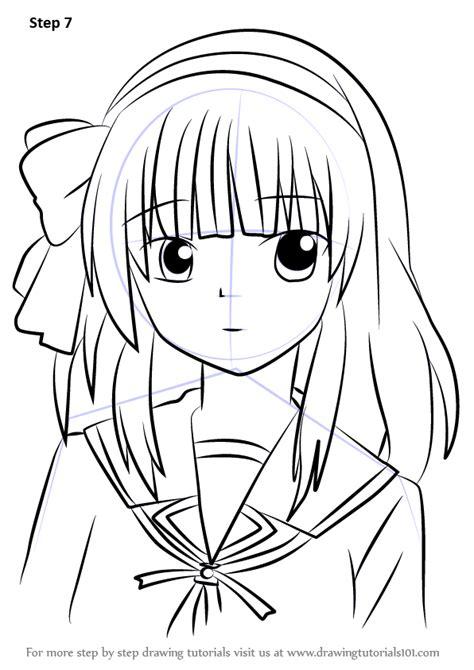 learn   draw yuri nakamura  angel beats angel
