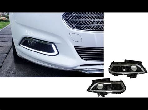 2013 and up ford fusion led daytime running lights