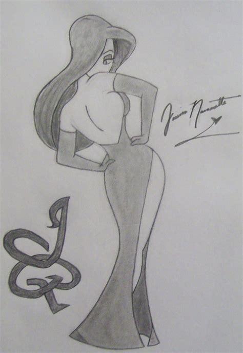 Jessica Rabbit Drawings