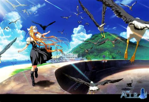 Animated Wallpaper For Air - air wallpaper 1181497 zerochan anime image board