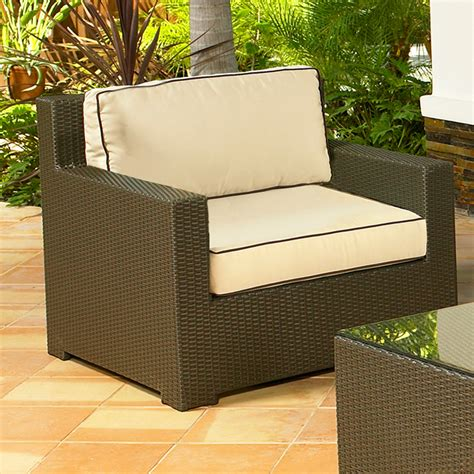 milgreen patio furniture nci malibu java club chair