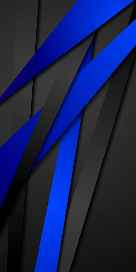 Abstract Black And Blue by Black And Blue Abstract Wallpaper Abstract And