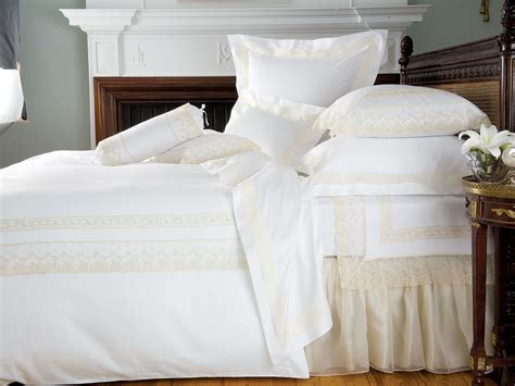 Creme De La Creme-luxury Bedding-italian Bed Linens