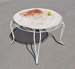 Table De Jardin Fer Forgé : mobilier de jardin vintage ~ Louise-bijoux.com Idées de Décoration