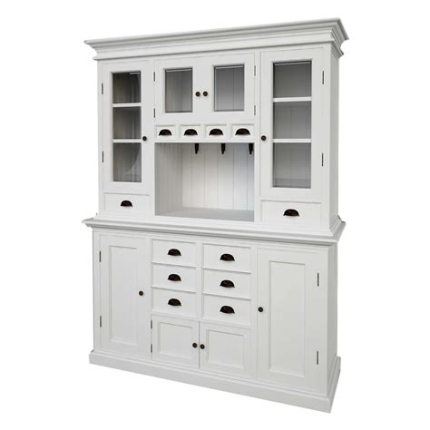 halifax kitchen buffet hutch white