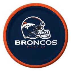 Baby Shower Sports Theme Cake by Nfl Denver Broncos Party Dessert Plates 8 At Birthday Direct