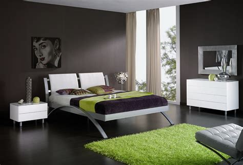 Modern And Popular Bedroom Colors Schemes With Attractive