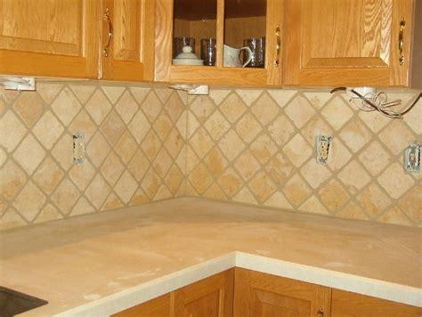 tumbled marble backsplash tile splashback ideas pictures tumbled marble for the
