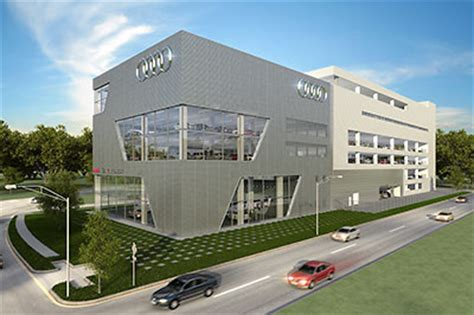audi dealership exterior auto dealerships swlot