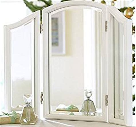Hartleys Bedroom Dressing Table With Folding Vanity Mirror by Bathroom Counter Trifold Vanity Table Mirror