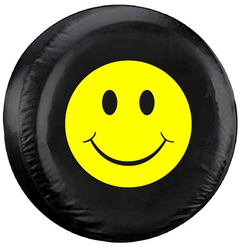 happy face spare tire cover