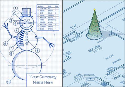 creative christmas card ideas  architects