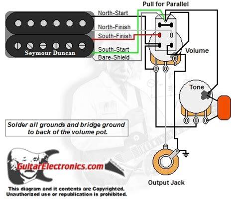Humbucker Volume Tone Series Parallel