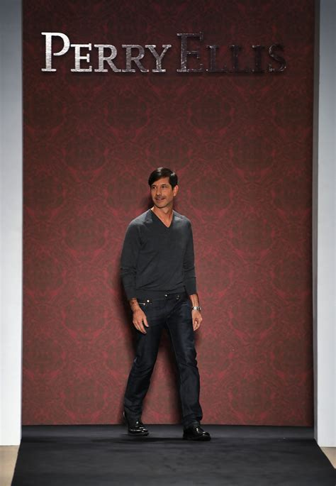 perry ellis fashion designer crocco in perry ellis runway fall 2010 mbfw zimbio