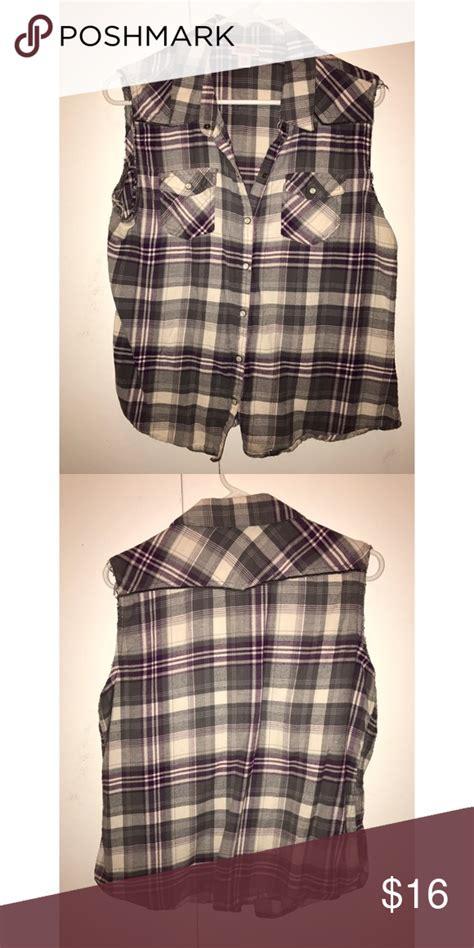 Flannel Cutoff Flannel Grey Flannel Clothes Design