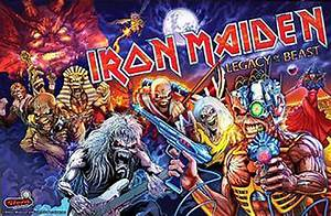 IRON MAIDEN REVEALED – Welcome to Pinball News – First & Free