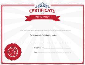 printable basketball award certificates