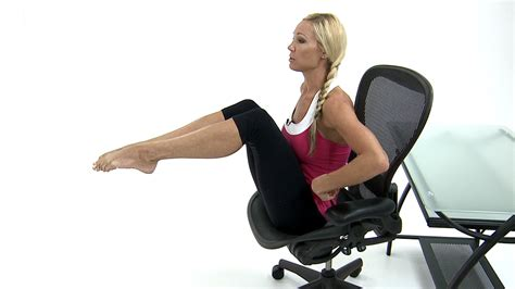 Chair Abs by Teaches Me How To Stay At Work The