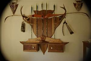Studio Furniture Rack, How To Make A Bow Rack Out Of
