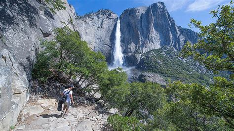 Yosemite Falls Discover National Park