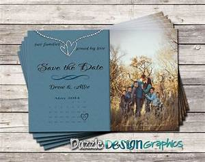 blended family save the date announcement with photo With wedding invitation etiquette blended families