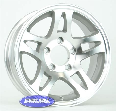 Boat Trailer Wheels Aluminum by 14 Inch Trailer Wheels Aluminum And Steel Free Shipping