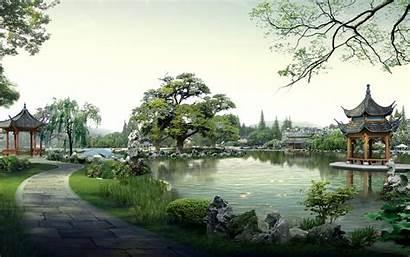 Chinese Scenery China Desktop Landscape Wallpapers Japan